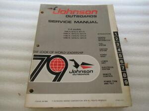 1979-Johnson-Outboards-V-4-Models-Factory-OEM-Service-Manual-P-N-JM-7909