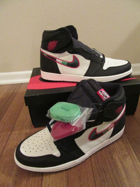 new style c5fea 13514 Nike Air Jordan 1 Retro High OG Size 11 Black Varsity Red Sail 555088 015  Star