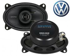 CRUNCH 6x4 COAXIAL SPEAKER FOR VW Polo 2 (86C/2F) - 1981-1994