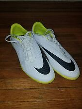 5f25a9372 item 4 nike hypervenom phelon premium turf white and yellow soccer shoes  size 9 for 200 -nike hypervenom phelon premium turf white and yellow soccer  shoes ...