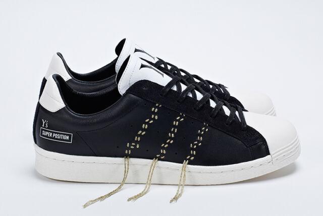 Adidas Consortium x Y'S 2013 SUPER POSITION SUPERSTAR TRAINERS BNIB UK10.5