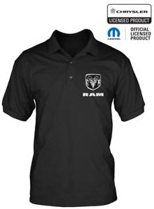 Official-Licensed-Dodge-Ram-Men-039-s-Polo-Shirt-Mopar-Chrysler