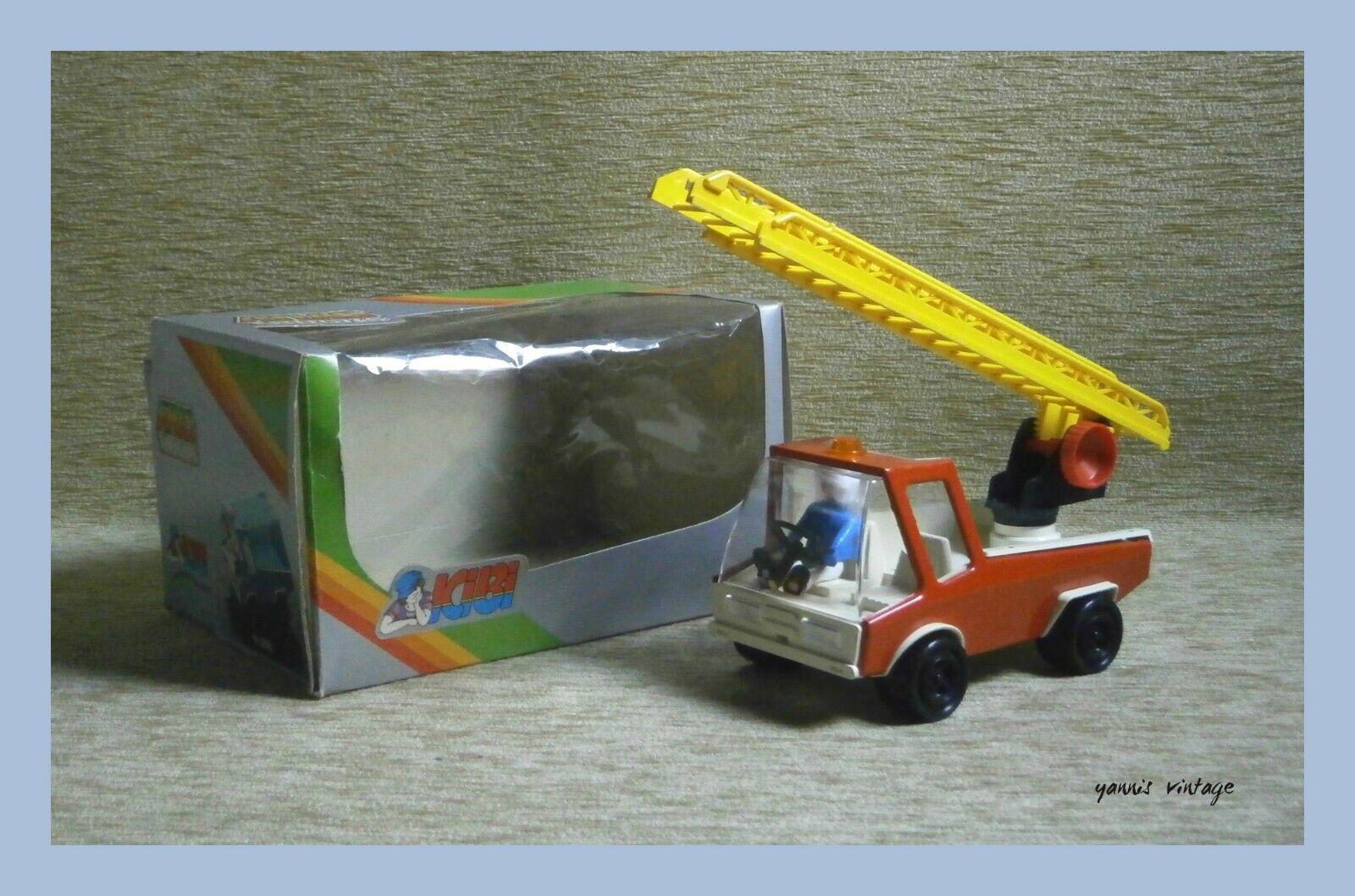 Atlas Camión Nuevo en Caja Estaño & plástico hecho en Grecia Kibi griego Vintage Raro