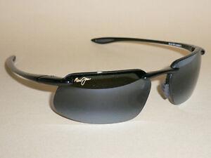 6ff66de82db Details about Brand NEW Authentic Polarized MAUI JIM KANAHA Sunglasses  Black Frame 409-02