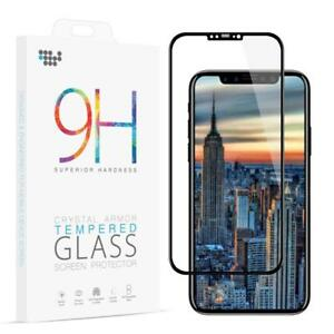 For-Apple-iPhone-8-X-Premium-Full-Coverage-Tempered-Glass-Screen-Protector-Film