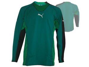 Puma-King-Torwart-Trikot-gruen-Goalkeeper-Shirt-Fussball-Torhueter-Jersey-Gr-XL