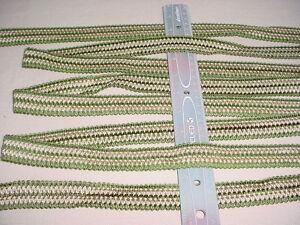 16y American Trim Bdr06063 Kiwi Linen Gimp Border Drapery