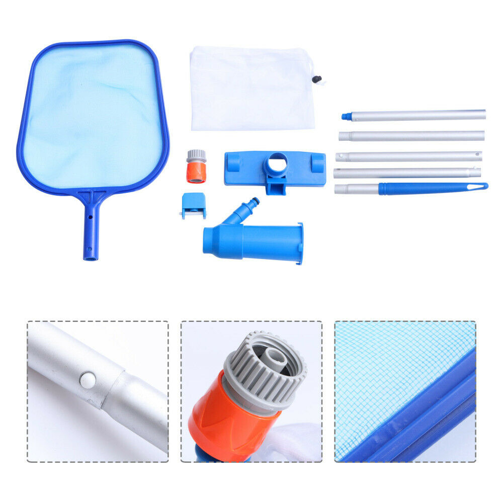 1 Set Lightweight Exquisite Practical Durable Brush for Pool Fountain Pond
