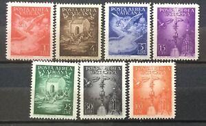 Vaticano-1947-posta-aerea-serie-completa-mlh