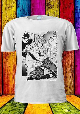 Entusiasta Death Note Light Misa Anime Manga T-shirt Canotta Tank Top Uomini Donne Unisex 353-mostra Il Titolo Originale Luminoso E Traslucido Nell'Apparenza