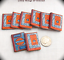 1:6 Scale McGuffey Readers Set of 8 Miniature Prop Faux Books Phicen Barbie