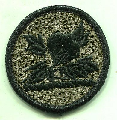 US Army Alabama Army National Guard OD Subdued Patch