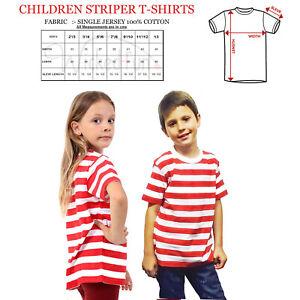 SéRieux Nouveau Unisexe Où Est Mur Bandes à Manches Courtes T-shirt Enfants Livre Jour Robe Fantaisie-afficher Le Titre D'origine Lustre Brillant