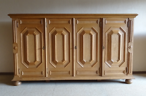 Living-room-cupboard-B-245-cm-Rustic-almost-top-condition-Oak-highboard-Sideboard