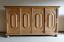 Living-room-cupboard-B-245-cm-Rustic-almost-top-condition-Oak-highboard-Sideboard thumbnail 1