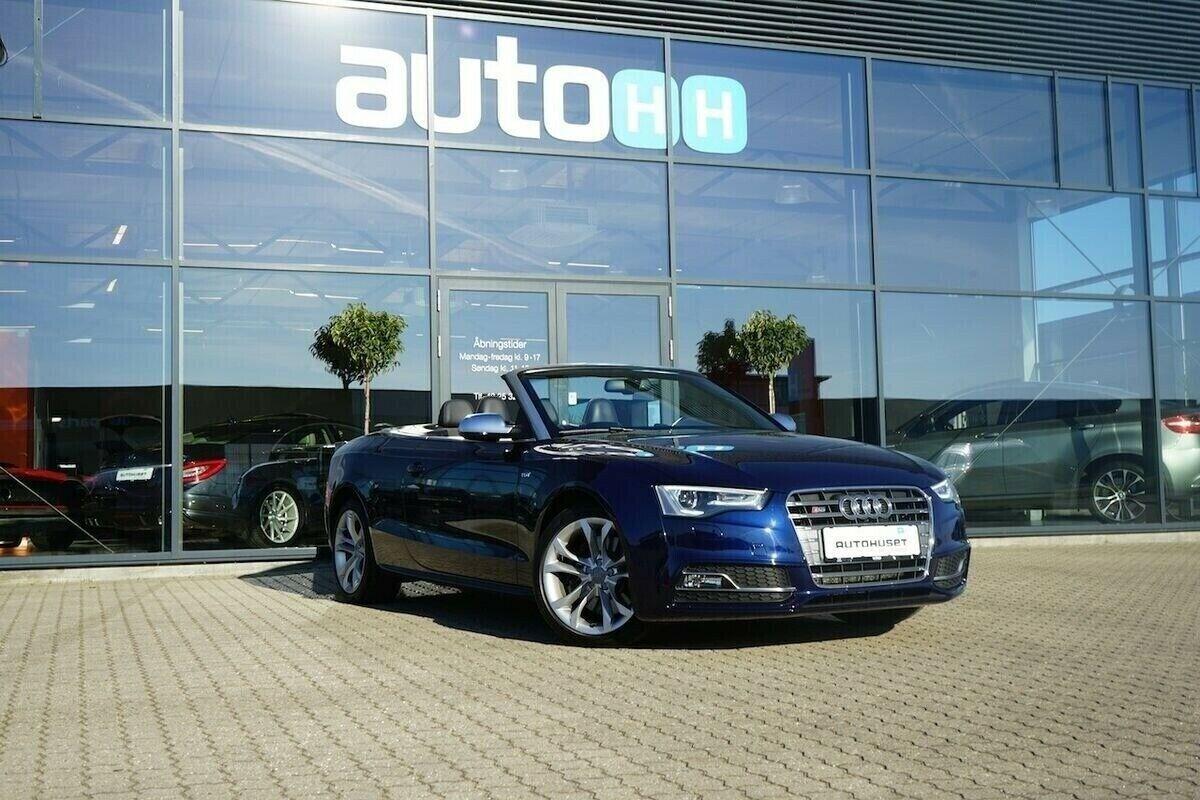 Audi S5 3,0 TFSi Cabriolet quattro S-tr. 2d - 474.760 kr.