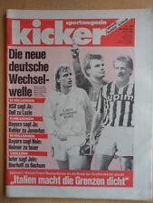KICKER 51 - 27.6. 1991 Doll zu Lazio Elf der Saison VfB Lepzig Carl Zeiss Jena