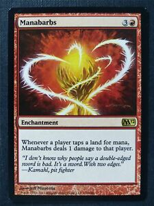 Manabarbs - Mtg Magic Card #WC