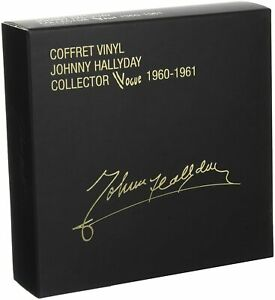 Johnny-Hallyday-Coffret-12x7-034-Collector-Vogue-1960-1961-France-M-M-Scelle