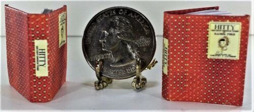 HER FIRST HUNDRED YEARS ILLUSTRATED MODIFIED 1:12 SCALE MINIATURE BOOK HITTY