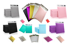 Poly Bubble Mailers Colors High Quality Sizes 4x7 5x7 6x9 8x11