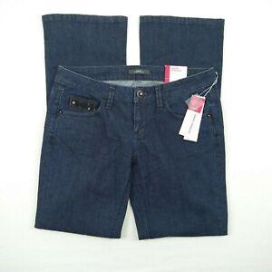 ESPRIT-Smart-Straight-Ref-Fit-Dark-Blue-Stretch-Denim-Jeans-Women-039-s-Size-30-NWT