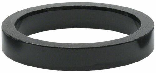 Wheels Manufacturing 5mm 1 Headset Spacer Black Bag//5