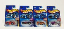 Lot of 4 Hot Wheels Mixed Assorted Carded Cars 2004 1st edition Blings Dodge