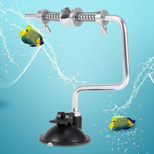 Portable Aluminum Fishing Line Winder Reel Spool Spooler System Tackle Tool New