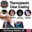 SAMSUNG-S8-3D-auto-guarigione-termoplastico-Chiaro-Gel-Morbido-con-Pellicola-Proteggi-Schermo miniatura 1