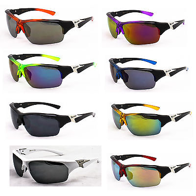 New X-Loop Ultimate Outdoor Cool Sport Sunglasses 100/% UV Protection X2392 Multi