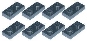 Brique lego manquant 3023 NOIR X 8 plaque 1 x 2