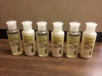 Coconut Verbena .75 Oz 3-shampoo & 3-conditioner Bottles Combo Pack ( Six Total)