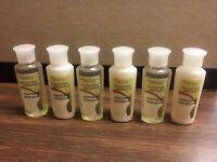 Coconut Verbena .75 Oz 3-shampoo & 3-conditioner Bottles Combo Pack ( Six Total)