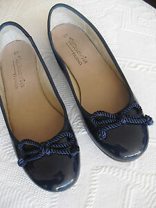 tamaris slipper lack leder ballerinas navy blau maritimes. Black Bedroom Furniture Sets. Home Design Ideas