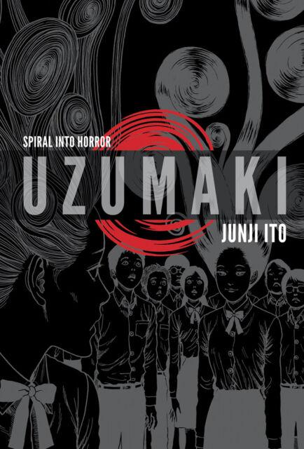 Uzumaki 3 in 1 Deluxe Edition Manga (Hardcover)