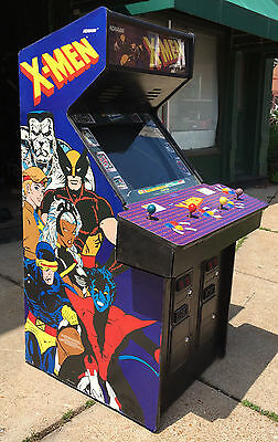 "X-men Arcade Game -Extra Sharp New 27"" Monitor"