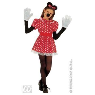 Bambini Minnie Mouse Costume /& Orecchie 11-13 Anni