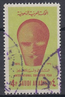 g1357 Flight Tracker Saudi Arabia 1971 Mi.535 Fine Used Erziehung Bildung Unesco Education Mittlerer Osten