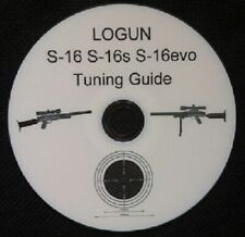 Logun S16 Air Rifle PCP Seal Kit for S16 MK 1 2 or 3