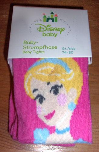 62//68 74//80 86//92 Disney Princess Prinzessin Baby Strumpfhose Gr