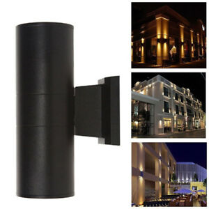 Modern Up Down Dual-Head Cylinder 6W COB LED Wall Light Outdoor Waterproof AO0DE