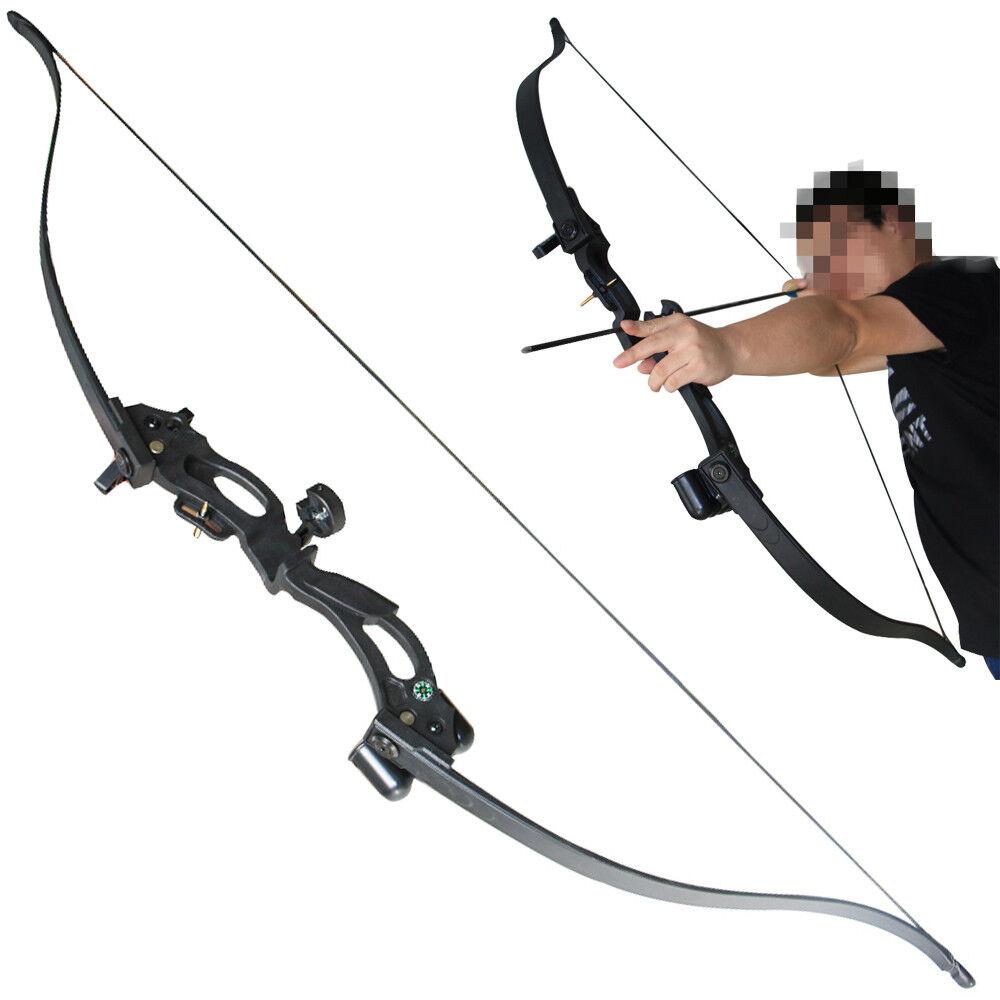 Arco de caza de tiro con arco recurvo de Diana de mano derecha negro tiro arco desmontaje