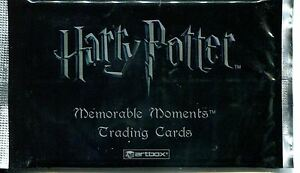 Harry Potter Memorable Moments Series 1 Factory Sealed Hobby Packet - Pack y8IGSgPn-09160243-282307317