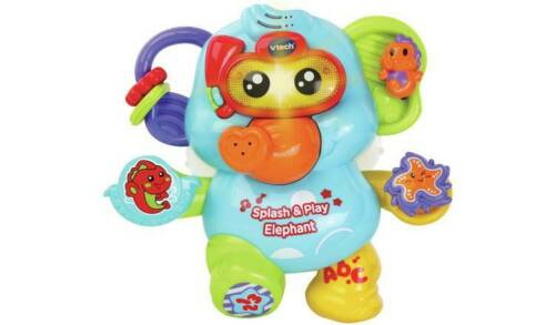 Elephant Snorkel Button For Fun Phrases /& Sounds NEW/_UK VTech Splash and Play