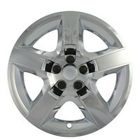 1 Piece Fits 17 Inch Chrome 5 Spoke Hub Cap Rim Steel Wheel Skin Lug Full Cover