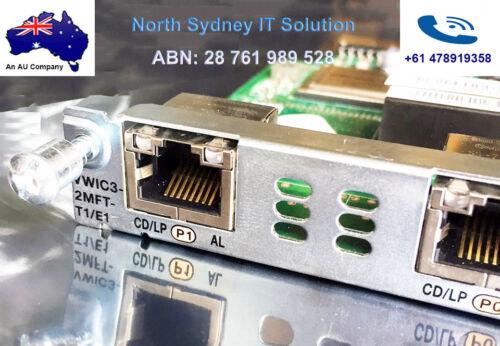Cisco VWIC3-2MFT-T1//E1 Multiflex Trunk Voice//WAN Card 1 Yr Wty For 2900//3900