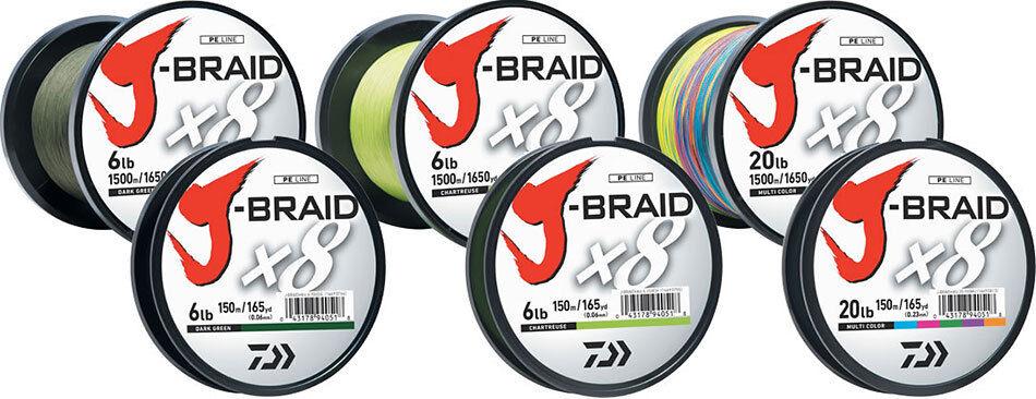 Daiwa J -Braid X8 Braid Fishing