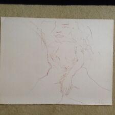 "John Lennon ""Erotic 1"" Original Bag One hand signed lithograph 225/300"