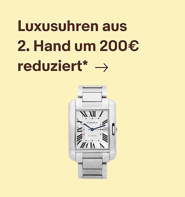 Luxusuhren aus 2. Hand um 200€ reduziert*